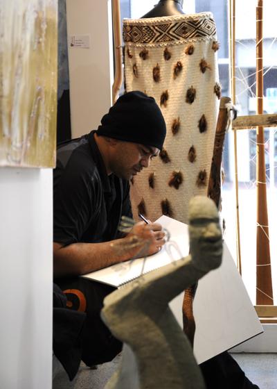 Kura Gallery Auckland Unitec Wananga Toi Maori Student