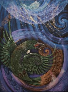 Above the Stars, a painting by Robin Slow