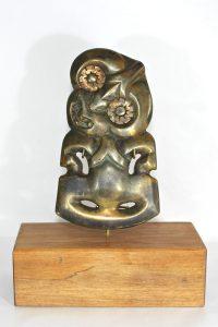 Bronze tiki by Alex Sands