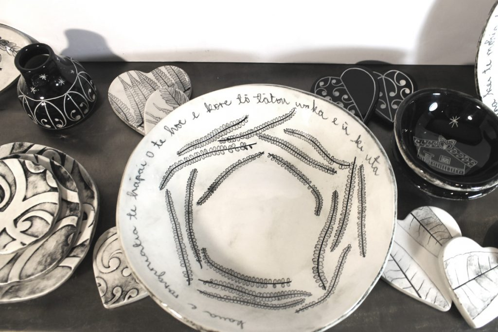 Ceramic bowls & Hearts by Borrowed Earth