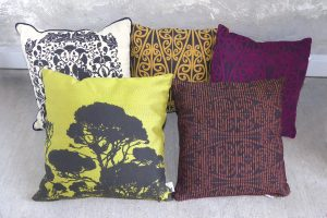 NZ made cushions by Hester de Ruiter