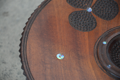 Inlaid Bowl sapelle paua mahogany3