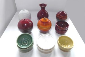 Ceramic dishes and pots by Kim Morgan