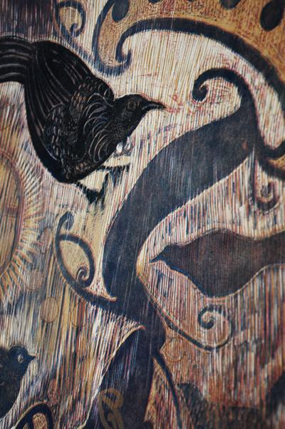 Gabrielle Belz Kura Gallery Maori Art Design New Zealand Aotearoa Printmaking Tanewhakapiripiri