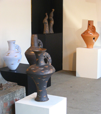 Baye Riddell exhibition contemporary maori ceramic art kura gallery new zealand