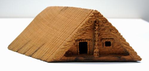 Conor Jeory Kura Gallery Aotearoa Art Design New Zealand Maori Carving Puriri Whare Small