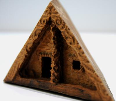Conor Jeory Kura Gallery Aotearoa Art Design New Zealand Maori Carving Puriri Whare Small 3
