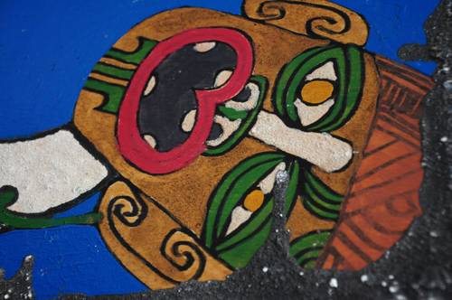 Hemi Kiwikiwi Kura Gallery Maori Art Design New Zealand Aotearoa Painting A future without a past can never be Recycled wooden panel