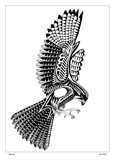 Kura Gallery Maori New Zealand Design Sam Clark Graphic Designer