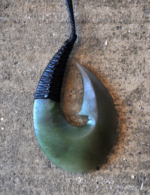 Maori Art Hei Matau Fish Hook Design Pounamu Carving Kura Gallery New Zealand Art Design