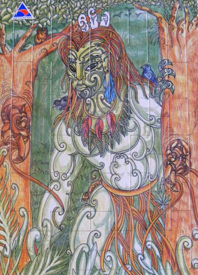 Mindshed Puzzle 3 maori art kura gallery auckland wellington new zealand