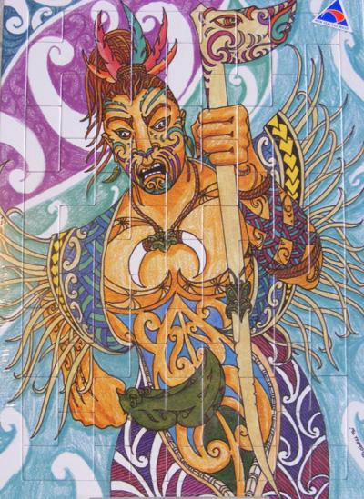 Mindshed Puzzle 4 maori art kura gallery auckland wellington new zealand