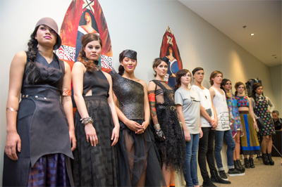 Kura Gallery Maori Art Design New Zealand Miromoda Fashion Awards Media Release 2012 News