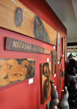 Natasha Keating Kura Gallery Maori Art Design New Zealand Artist In Residence Auckland News Update
