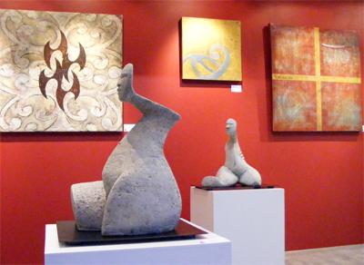 Kura Gallery Maori Art - Paerau Corneal, Annabelle Buick, Jess Paraone and Stuart Tume