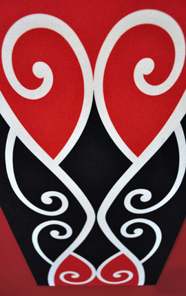 Borrowed Earth Design Kura Gallery Maori Art Design New Zealand Kowhaiwhai Korero tuku iho wall art panel 3