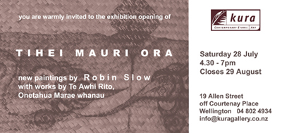 Kura Gallery Maori New Zealand Paintings Robin Slow